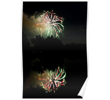 Fireworks on Golden Ponds Poster