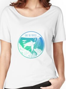 Save the Turtles! Women's Relaxed Fit T-Shirt