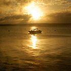 Bahamas Boat by ScottBittinger