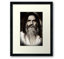Baba Ram Singh Framed Print