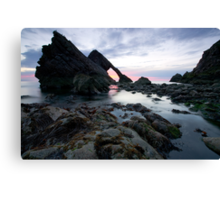 Bow Fiddle Rock, Scotland Canvas Print