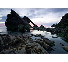 Bow Fiddle Rock, Scotland Photographic Print