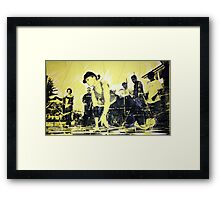 #101 Framed Print