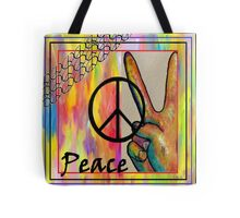 Peace in Every Color Tote Bag