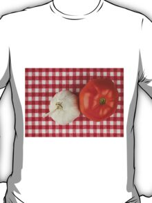 Garlic and Tomato T-Shirt