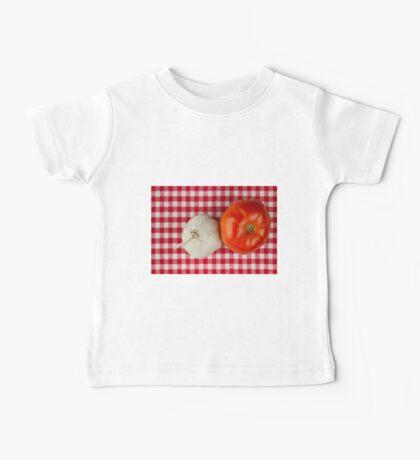 Garlic and Tomato Baby Tee