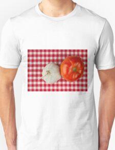 Garlic and Tomato Unisex T-Shirt