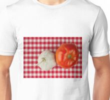 Garlic and Tomato Unisex T-Shirt