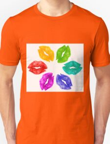 Color Kisses Unisex T-Shirt