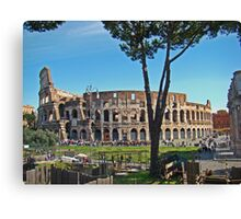 Roman Colosseum II Canvas Print