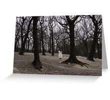 Lost in a forest of thoughts. Greeting Card