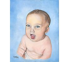 BABY RORY/Oil on canvas Photographic Print