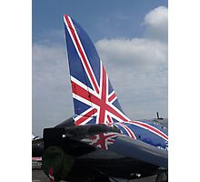 A tail of patriotism... Photographic Print