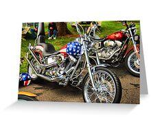 Easy Rider wannabe Greeting Card