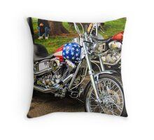 Easy Rider wannabe Throw Pillow