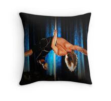 Rope Performer - Acrobat Throw Pillow