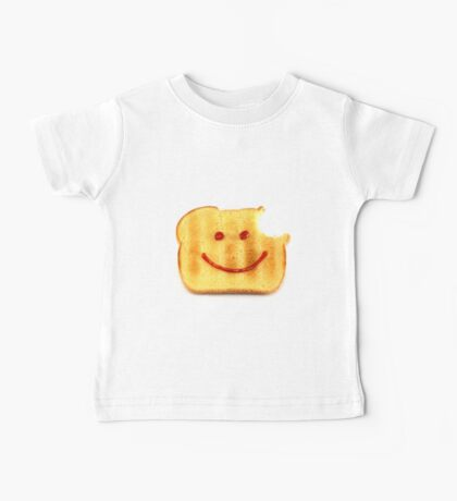 Bread with Happy Face Baby Tee