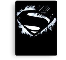 Superman Awesome Symbol Canvas Print