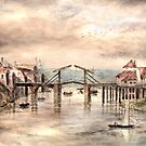 Timber Bridge, Old Whitby by Colin Cartwright