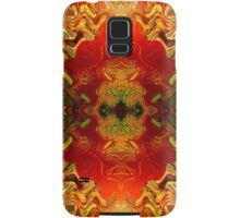 RetrOilGlow (signed) Samsung Galaxy Case/Skin
