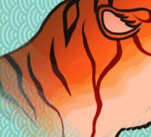 Tiger Fury Sticker
