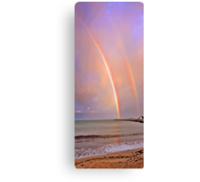 Rainbows Over Fremantle  Canvas Print