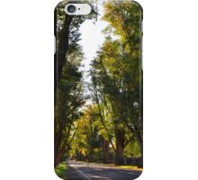 Bacchus Marsh Avenue of Honour iPhone Case/Skin