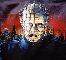 Pinhead on Leather by quigonjim