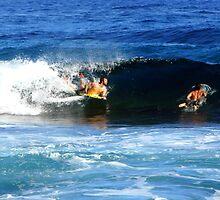 Surfing Puerto Rico by Haydee  Yordan