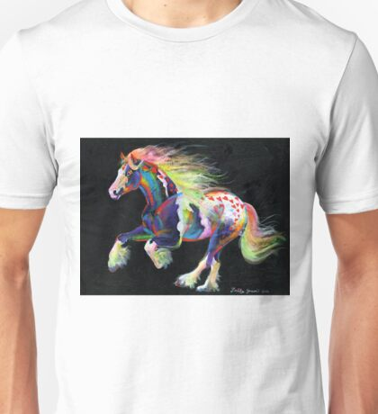 Trail Of Hearts Pony Unisex T-Shirt