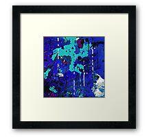 Beneath the Deep Blue Sea Framed Print