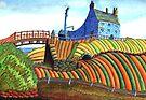 177 - SEATON SLUICE - 01 - DAVE EDWARDS - WATERCOLOUR - 2007 by BLYTHART