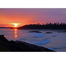 Vancouver Island Sunset - ii Photographic Print