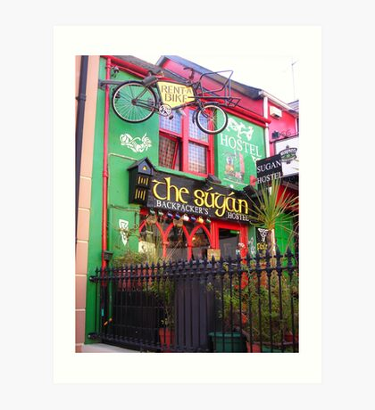 Hostel in Ireland Art Print