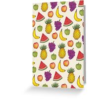 Fruit Salad Greeting Card