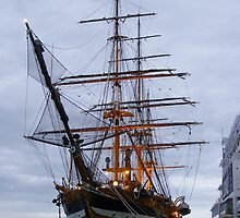 Old Sailing Ship by Dave Lloyd