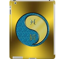 Pisces & Dragon Yang Metal iPad Case/Skin