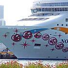 Cruise Ship Miami Port by longaray2
