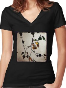 Last Days - TTV Women's Fitted V-Neck T-Shirt