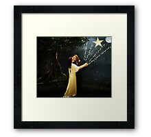 astronomy for the heart Framed Print