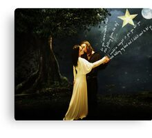 astronomy for the heart Canvas Print