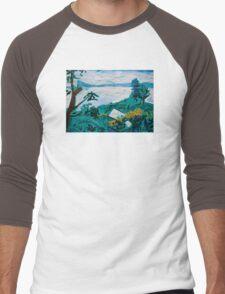 Davies Road Men's Baseball ¾ T-Shirt