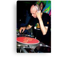 DJ Seraphim Canvas Print