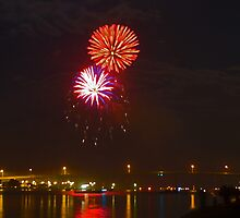 Fireworks  by Larry  Grayam