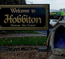 Matamata - Hobbiton New Zealand by Sandra  Sengstock-Miller
