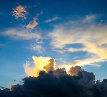 Sunset Sky by Victor He
