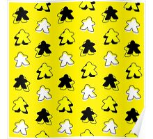 I Call The Yellow Meeple Poster