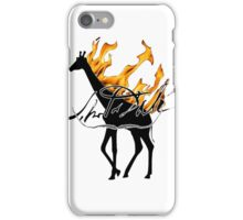 giraffe Dali iPhone Case/Skin
