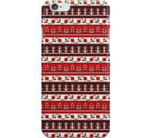 Traditional Romanian embroidery pixel iPhone Case/Skin