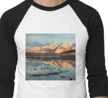 Tranquility in Reflection Men's Baseball ¾ T-Shirt